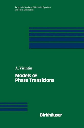 Models of Phase Transitions (Progress in Nonlinear Differential Equations and Their Applications)