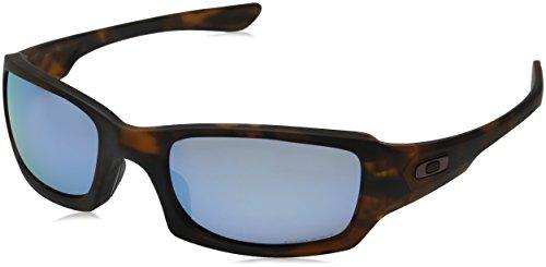 Oakley Herren Sonnenbrille FIVES SQUARED Braun (Matte Tortoise/Prizmdeeph2Opolarized), 54