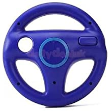 Alcoa Prime Blue 360° Steering Wheel For Nintendo Wii Game Racing Console Remote Controller
