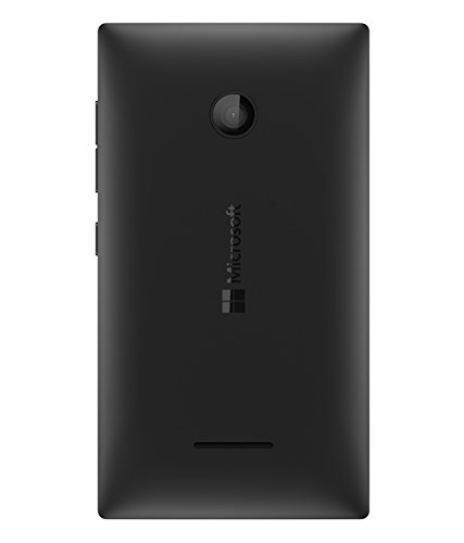 DiBOX Replacement Back Door Cover Panel For Microsoft Lumia 532 (Black)