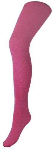 Merry Style Kinder mikrofaser Strumpfhose MS-740 40 DEN (Melange/Pink, 3 (140-146)) (Pink Strumpfhose Microfaser)