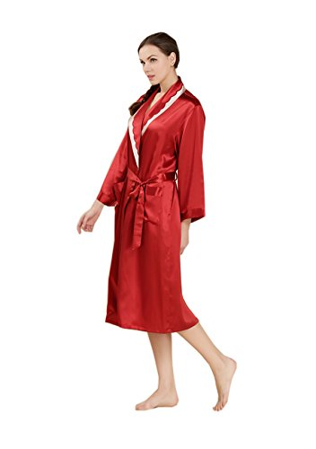 AORUI - Ensemble de pyjama - Femme Rouge - Rouge