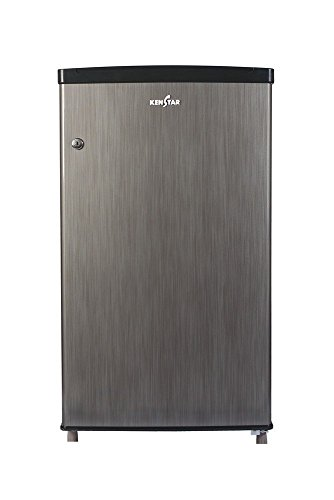 Kenstar NH090PSH-FDA Direct-cool Single-door Refrigerator (80 Ltrs, Silky Grey)
