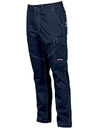 Payper Pantalone da Lavoro Worker. Blu Navy