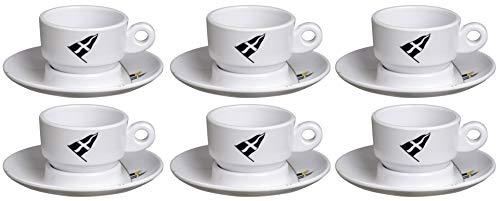 Marine Business Espressotasse mit Unterteller - Regatta, 6er Set -