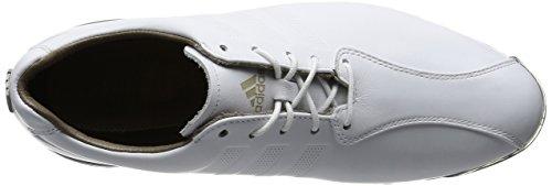 Adidas Tp Adipure Golf Chaussures, Blanc Pour Homme (blanc / Blanc / Argent Foncé Métallisé)
