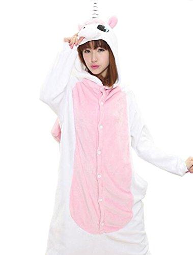 Vogstyle Plüsch-Hausschuhe Pyjamas Tier Onesie Body Nachtwäsche Kleid Overall Animal Sleepwear Erwachsene Pyjamas 1-22