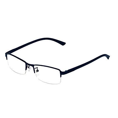Business-Qualitäten Mode der männlichen Art der Brille für Nahsichtigkeit ist super leicht Reintitan Halbbrille für Nahsichtigkeit männlichen Stil der Flut