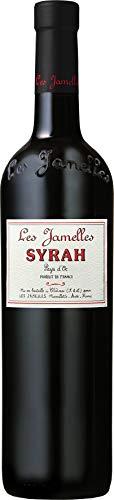 6x-075l-2017er-Les-Jamelles-Syrah-Pays-dOc-IGP-Languedoc-Frankreich-Rotwein-trocken