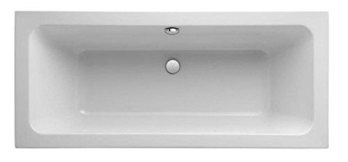 Keramag Badewanne iCon 170x75cm Mittelablauf weiß(alpin)