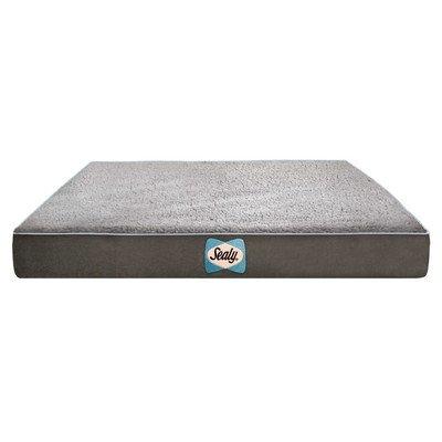 Sealy Memory-schaum (Sealy Supreme Sherpa Hundebett mit Memory-Schaum, orthopädische Schaumstoff und Kühlendes Gel)