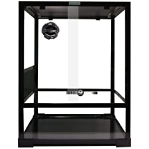 Komodo Terrarium, flach verpackt Glas, 45x 45x 60cm