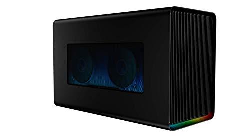 Razer Core X Chroma: Thunderbolt 3 Externes Grafikkarten Gehäuse (Egpu) für Windows 10 und Mac - Externe Grafik-Lösung für Laptops mit RGB Chroma Beleuchtung
