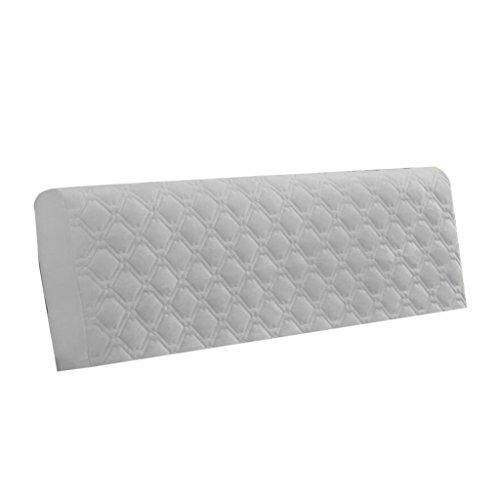 Homyl Staubdichte Bettkopfteil Kopfteil Bezug Husse Cover Abdeckung, aus Polyester - Grau