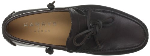 Harrys Of London Henley Driver 2 Satin, Mocassins Homme Marron (dark Brown)