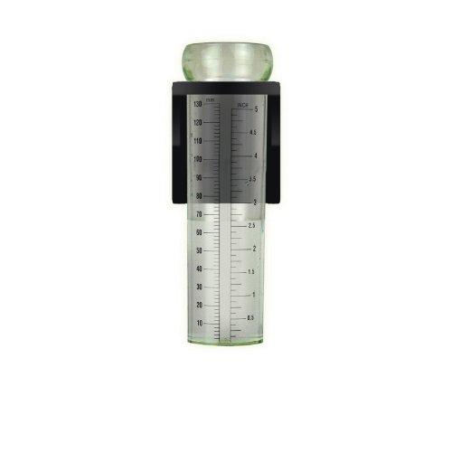 Luster Leaf 1646Rapitest Spirale Metall Regenmesser mit Stab