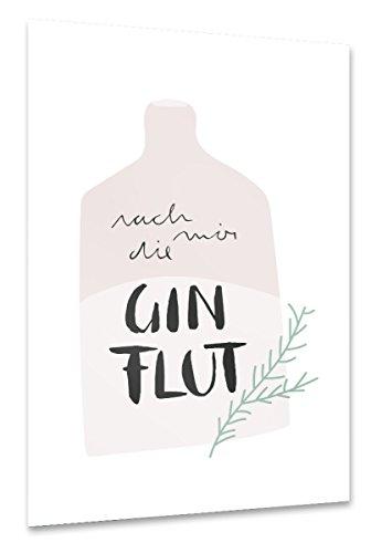 artboxONE Poster 45x30 cm Typografie Essen & Trinken
