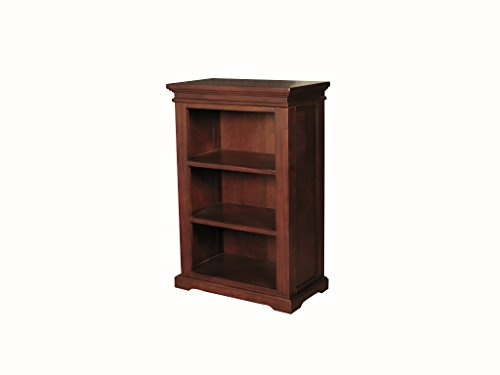 Claire Mahogany Low Bookcase - Low Shelving Storage Unit - Finish : Mahogany - Living Room - Dining Room - Home Office Furniture