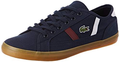Lacoste Sideline 319 2 Cfa, Sneaker Donna, Blu (Nvy/Wht/Dk Red NWR), 38 EU