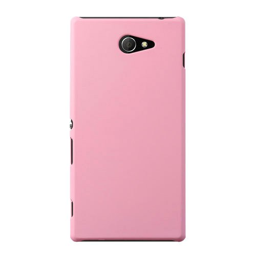 WOW Imagine(TM) Rubberised Matte Hard Case Back Cover For SONY XPERIA M2 / M2 DUAL (Baby Pink)  available at amazon for Rs.169