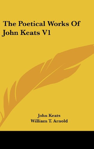 The Poetical Works Of John Keats V1