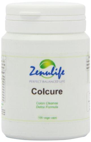 Körper Detox-cleanser (ColCure Colon Cleanser Detox Formula 100 Kapseln, Gewicht verlieren, fühlen und gesünder)