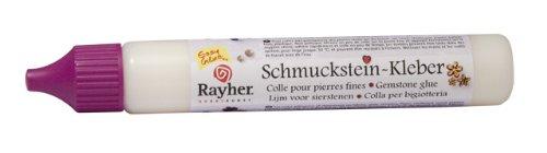 Rayher 3376000 Schmucksteinkleber, 40ml, Flasche 41g