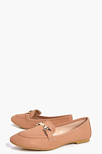 Damen Erröten Phoebe Metallic Trim Loafer Erröten