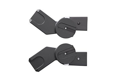 Cybex 515417004-adattatore per seggiolino passeggino gemellare linea m cybex, colore: nero