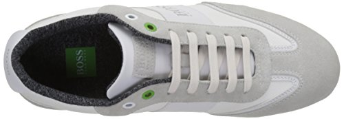 Boss Green Lighter_lowp_cvc 10197554 01, Sneakers Basses Homme Blanc (White 100)