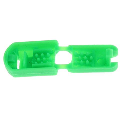 Sharplace Bloccaggio Blocca Serrature Chiusura Fissaggio Corda Fibbia Strap Buckle Sportivo Esterno Scarpa Bagagli Sacchetti Scarpe - Grigio Verde