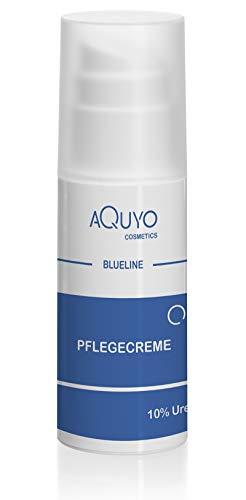 Blueline 10% Urea Creme für sehr trockene Haut, Körpercreme bei Psoriasis oder Neurodermitis,...