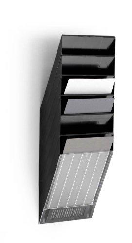 Durable 1709760060 Prospektspenderset (Flexiboxx 6 A4) 1 Set schwarz