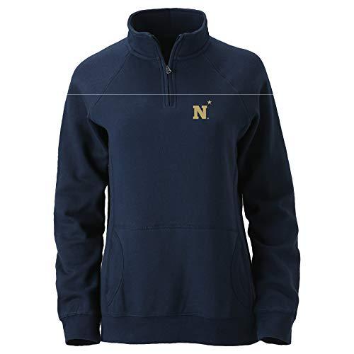 Ouray Sportswear NCAA Navy Womens W Dee-Lite 1/4 ZipW Dee-Lite 1/4 Zip, Navy, L -