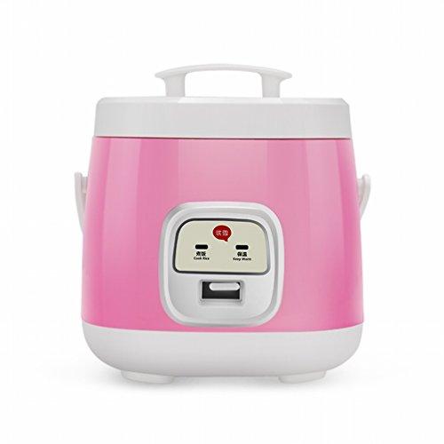 GAYY Mechanischer Reiskocher Kleiner Mini-Reiskocher 1-2-3 Personen,Rosa