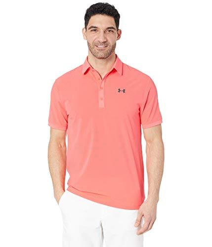 Under Armour Herren Playoff Vented Poloshirt, Rot, LG - Lg Golf Shirt