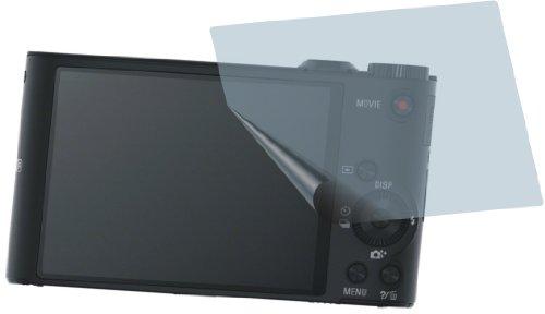 2x Sony Cyber-shot DSC-WX350 ENTSPIEGELNDE PREMIUM Displayschutzfolie Bildschirmschutzfolie von 4ProTec - Nahezu blendfreie Antireflexfolie