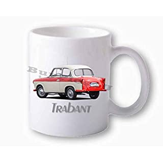 BuyPics4U Fototasse weiß Trabant 500 rot hinten