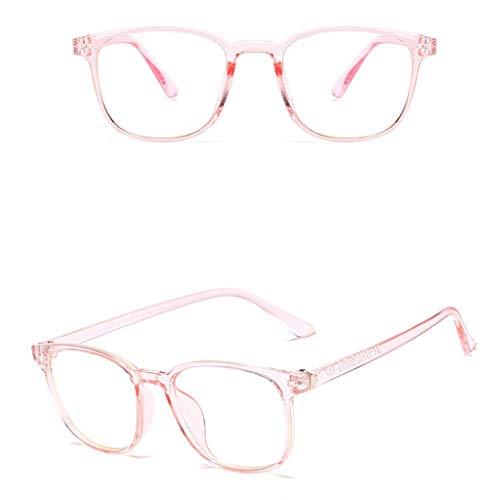 KostenloseLieferungSun Glasses For Man Women Unisex-Brille Runde Retro Glasrahmen Ebenenspiegel Dekobrille Klassisches Pwtchenty 2019 Sonnenbrillen Damen Sommer Marken (Rosa)