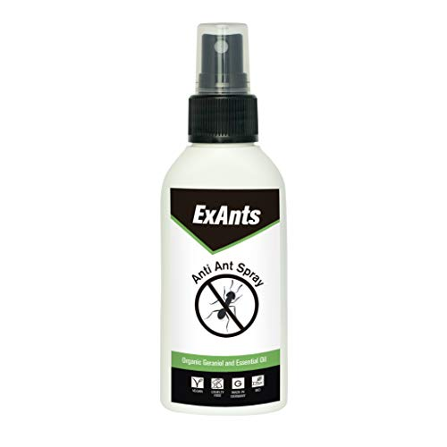 Repellente formiche ExAnts | Anti formiche spray biologico 100ml | Alternativa a insetticida formiche e trappola per formiche | No veleno formiche