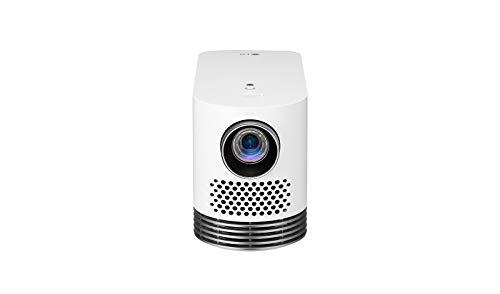 LG Beamer HF80LSR bis 304,8 cm (120 Zoll) CineBeam Laser Full HD Projektor (2000 Lumen, Bluetooth Sound, Laser 20000), weiß - Laser-projektor 1080p