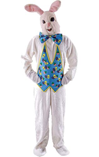 Unisex erwachsene Tier Hase Kaninchen Maskottchen Kostüme Anzug Kostüm