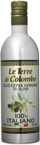 Le Terre di Colombo – 100 Prozent Italienisches Natives Olivenöl Extra - Aluminium-Flasche - 0,75 l
