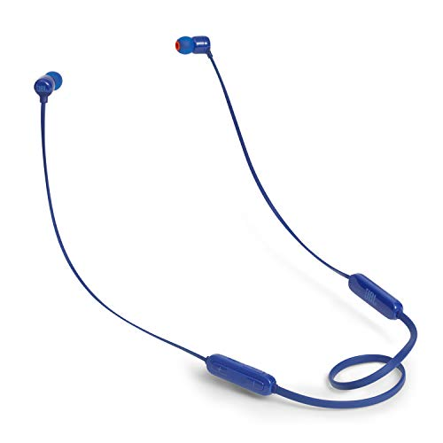 JBL Tune 110BT Pure Bass Wireless in-Ear Headphones with Mic (Blue)
