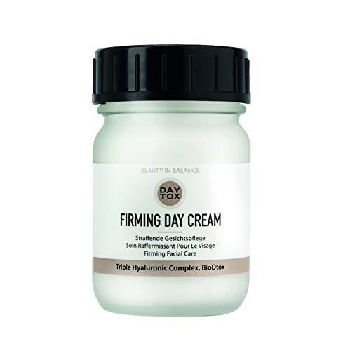 DAYTOX - Firming Day Cream - Straffende Tagescreme mit Triple Hyaluron - Vegan, ohne Farbstoffe, silikonfrei und parabenfrei - 1 x 50 ml