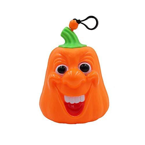 Y-YT Halloween-Dekoration Tragbare Halloween sprachaktivierte Kürbis Licht für Kindergartenkinder Hand Halloween Desktop Ornamente 12 * 18cm (Halloween Für Kindergartenkinder)