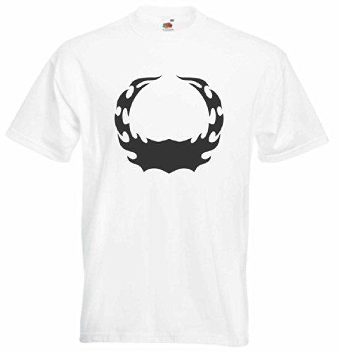 T-Shirt Herren feuerkreis Weiß