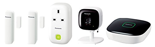 Panasonic Smart Home KX-HN6012EW Monitoring and Control Kit - White (5-Piece)