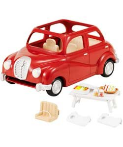 Sylvanian Family berline de voiture.