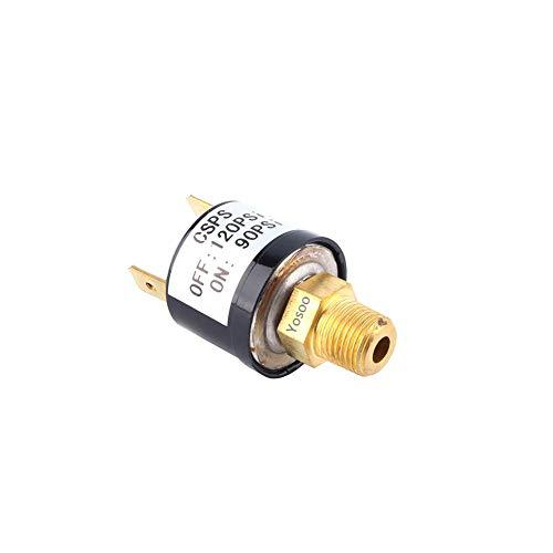 Valvola dell'interruttore di controllo della pressione del compressore d'aria per impieghi gravosi 90-120 PSI